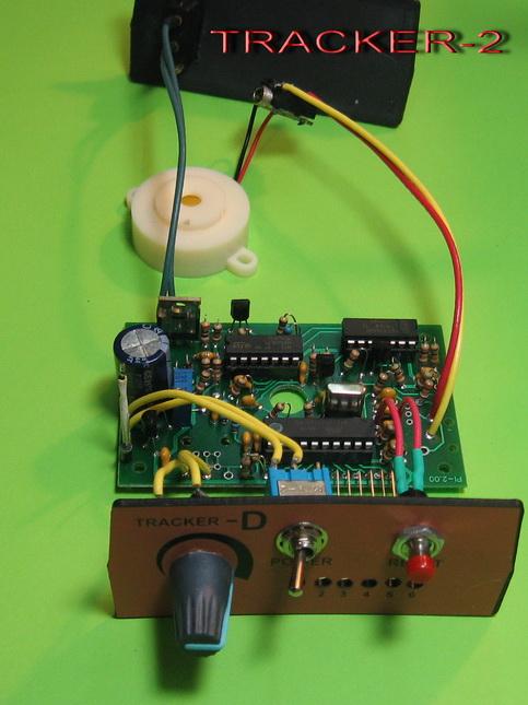 Подробная схема сборки металлоискателя